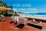 Ocean View homes for lease LA County