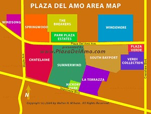 Plaza Del Amo Map